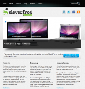 Cleverfrog Learning