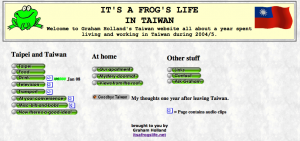It's A Frog's Life in Taiwan