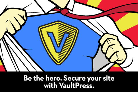 VaultPress Superhero